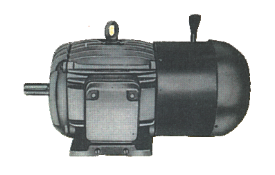 tefc-foot-mounted-motor-with-dc-brake-type-efsb